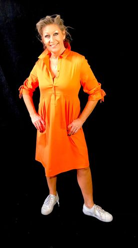 by Dagmar Sommerkleid orange